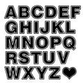 Английские буквы от А до Z и любовь укладки Смешные изготовленная на заказ кузова DIY Decalsl автомобильный Стайлинг автомобиля декоративные Сти...