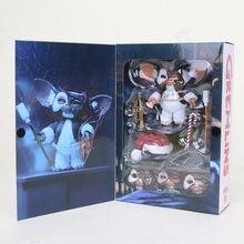 Figura de ação de filme gremlins, boneco de 10cm, edição final gizmo deluxe 1/7, escala de brinquedo