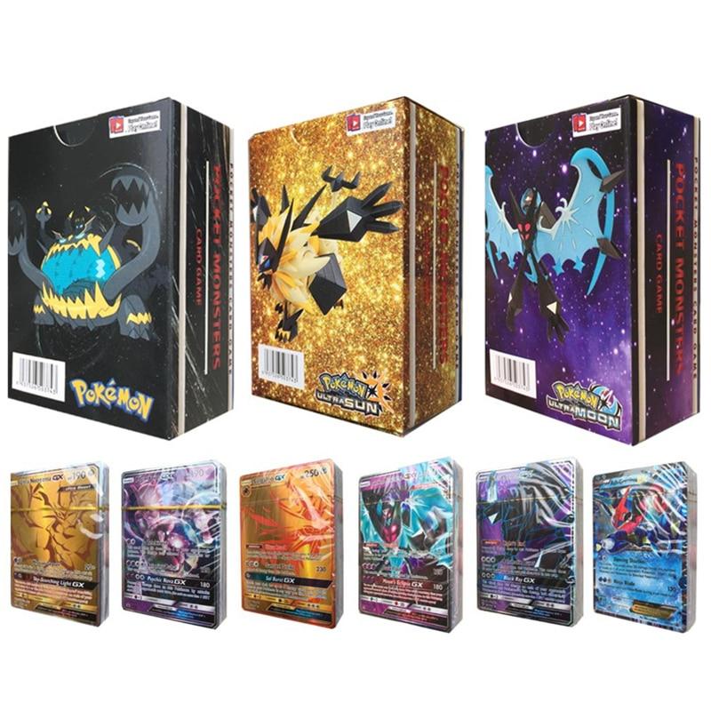 300 Pcs MEGA 20 60 100pcs GX Anime Shining Cards Battle Carte Pokemons EX English Trading Cards Game Kids Gifts TAKARA TOMY Toys