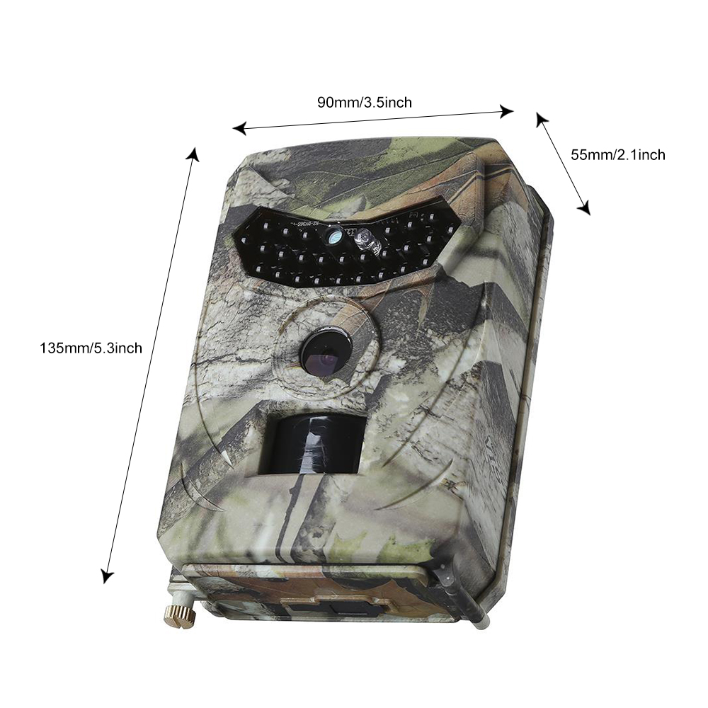 Waterproof Trail Hunting Camera Outlife PR 100 Trail Camera Wildlife Outdoor Night Vision Photo Traps Cameras Video Surveillance in Hunting Cameras from Sports Entertainment