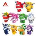 Миниатюрная трансформирующая игрушка S4 с супер крыльями, самолет-трансформер, робот, фигурки героев мультфильмов, игрушки-трансформеры для...