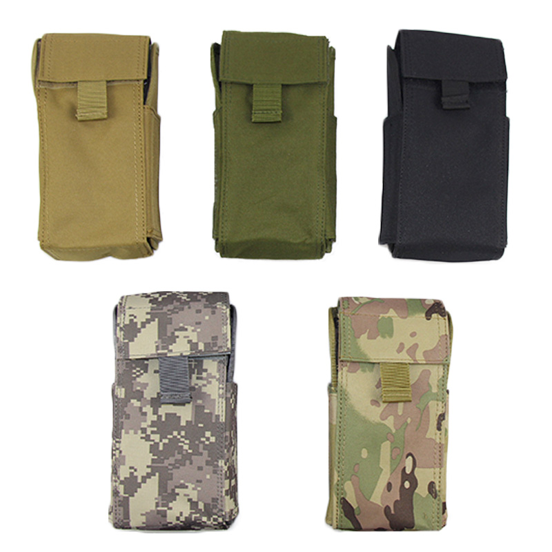 Multicam Hunting Airsoft Molle Tactical Military 25 Round 12 GA Gauge Shotgun Reload Magazine Pouch Bag Mag Bag Tool Pouches image