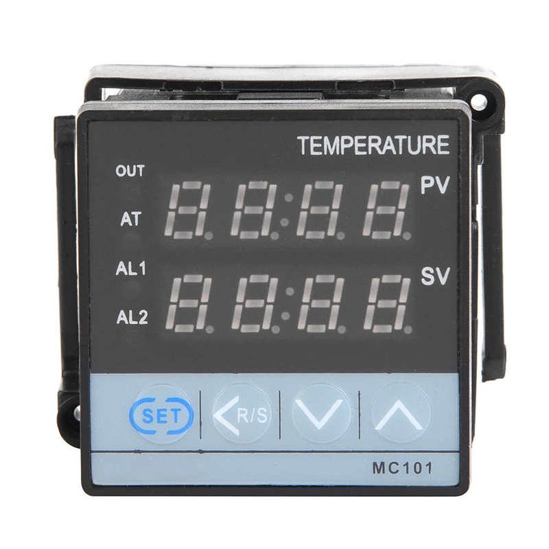 MC101 Digital PID Temperature Controller Relay/SSR Output 48mm*48mm PID Control and Self Tuning Control