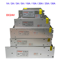 Wholesale DC 24V led Switching Power Supply 1A 2A 3A 5A 10A 15A 20A 25A 30A Lighting Transformer for led strip led lamp Light 6pcs lot led lighting transformer led power supply 12v 20a 240w for led strip light [ledbluebell ]