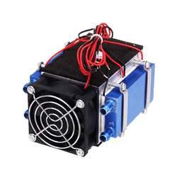 4 chips 12V 280W Semiconductor electrónico módulo de refrigeración por agua disipador de calor Semiconductor enfriador