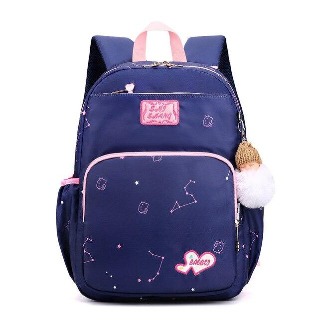 Купить школьные ранцы для девочек милые водонепроницаемые детские сумки картинки