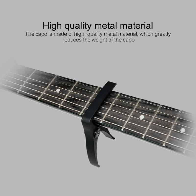 באיכות גבוהה אלומיניום גיטרה קאפו שינוי מהיר מהדק מפתח לגיטרה קלאסית & אקוסטית קלאסי גיטרה חשמלית כוונון מהדק