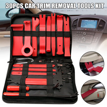 30pcs Car Trim Removal Tools Kit Car Audio Removal No Deformation Disassembly Tools Set _WK недорого