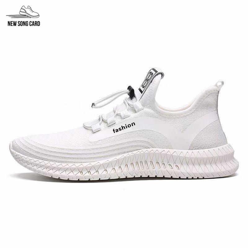 גברים של נעלי ספורט נעליים יומיומיות לא להוסיף גומי נעלי גברים של נעלי גופר נעלי גברים של אוויר רשת תחרה ללבוש עמיד נעליים