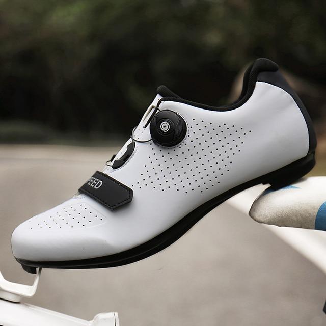 Sapatos de ciclismo homem profissional velocidade estrada bicicleta apartamentos unisex esporte ao ar livre tênis mulher sapatilha zapatillas hombre 5