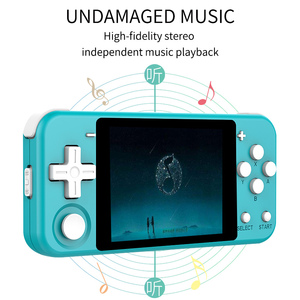"""Image 3 - Q90 Handheld Video Game Console Retro Games 3 """"HD IPS Screen Kids Gift 16 Simulator Support PS1 3D games Open Source Dual System"""