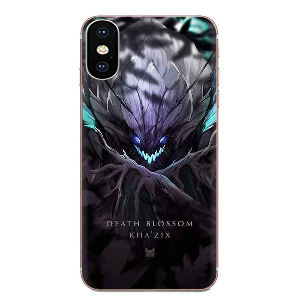ТПУ чехол для сотового телефона samsung Galaxy Note 5 8 9 S3 S4 S5 S6 S7 S8 S9 S10 5G mini Edge Plus Lite League Of Legends Design
