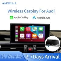 Apple Carplay Wireless Interface Prime Für Audi Q3 Q5 Q7 A1 A3 A4 A5 A6 C7 A7 A8 S5 S7 s8 MMI Spiegel Link Android Auto Update
