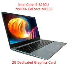 I5-8250U 8G RAM Intel Laptop NVIDIA GeForce MX150 ноутбук Layout Keyboard