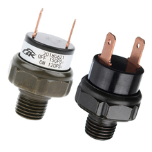 Air-Pressure-Switch for Train/horn NPT Tank-Mount-Type Thread Automatic 12V 1/4'' 2PCS