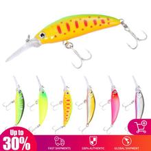 70mm 6g Fishing lures minnow crank magnet system Crank Bait Hard Minnow Fishing Lure Pike Bait Swim Wobblers Crankbait 0-2M