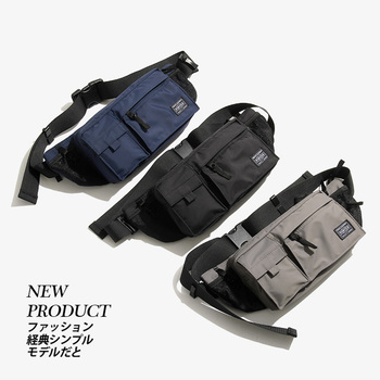 2020 New Arrival Japanese and Korean Brand Waterproof Functional Chest Bags Outdoor Sports Waist Bag Fanny Pack Phone Pouch Bags