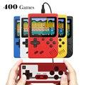 Портативная мини-консоль для видеоигр в стиле ретро, 8 бит, 3,0 дюйма, цветной ЖК-дисплей, Детская консоль для игр, 400 встроенных игр