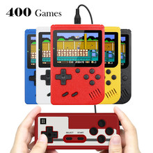 Portable Mini Handheld video Game Console Retro 8-Bit 3.0 Inch Color LCD Kids Color Consola Game Player Built-in 400 Games