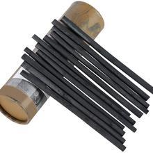 Высокое качество и гладкая лоза ивы палочки для древесного угля карандаши для рисования Упаковка из 25(4-5/5-7/7-9 мм диаметр) жесткая коробка упаковка