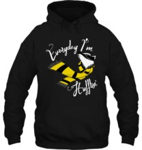 Men Hoodie Everyday Im Hufflin Hufflepuff Women Streetwear(China)