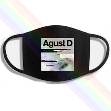 Agust D M F - Suga Printing Washable Breathable Reusable Cotton Mouth Mask
