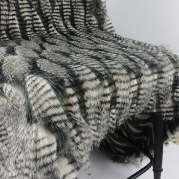 160*100cm jacquard fluffy fourrure peacock hair artificial plush faux fur fabric for coat pillow case vest fausse fourrure tissu фото