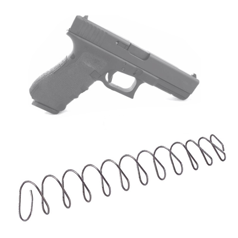 Magorui Steel Magazines Base Pad Spring Mag Extension Spring For Glock G17/19/22/23/34/35 M&P  5/6