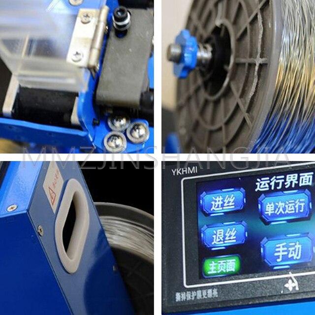 автоматическая машина для завязывания алюминиевой проволоки фотография