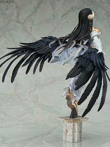 Image 2 - 새로운 도착 애니메이션 뜨거운 섹시한 여자 알베도 플라잉 동상 1/8 스케일 Painted 액션 피규어 PVC 컬렉션 모델 인형 장난감 LELAKAYA 29cm