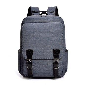 Unisex Business Laptop Backpack Men Travel Backpack Boy School Bag Large Capacity Student Fashion Durable Waterproof Backpack