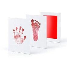 6 Цвета по уходу за ребенком нетоксичный отпечаток комплект