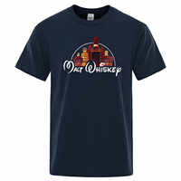 2019 Neue Sommer Coole T-shirt Männer Kurzarm Malt Whisky T-Shirt Lustige Alkohol Getrunken Baumwolle T O-ansatz T Shirt Streetwear tops