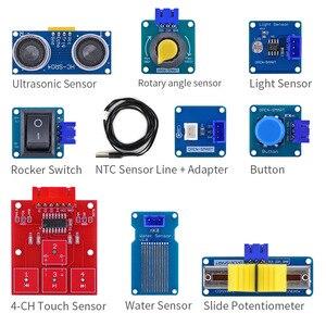 Image 4 - Kit de capteur de prise colorée XH 2.54mm, Kit de démarrage facile avec module de capteur de température MP3 RTC pour Arduino UNO R3