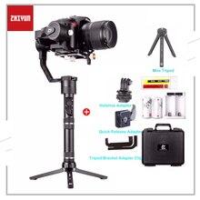 Zhiyun Gru Più di 3 Assi Handheld Gimbal Stabilizzatore 2.5KG 5.5lb Carico Utile Per Sony Panasonic Canon Nikon Fujifilm Dsrls Macchina Fotografica