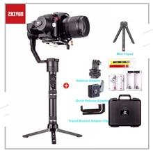Zhiyun vinç artı 3 eksen el Gimbal sabitleyici 2.5KG 5.5lb yük Sony Panasonic Canon Nikon Fujifilm Dsrls kamera