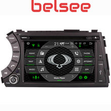 Belsee Touch Screen Android 9.0 Auto DVD Radio Multimedia voor SsangYong Kyron Actyon Korand Head Unit GPS Navigatie(China)