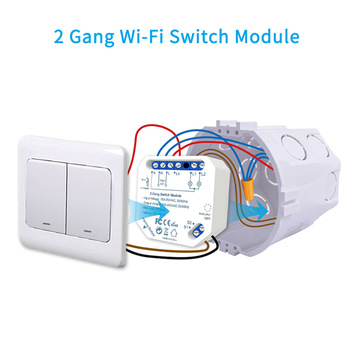 Módulo Doble Interruptor Wifi
