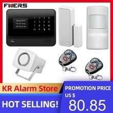 Беспроводная домашняя система охранной сигнализации FUERS, Wi Fi, GSM, 3G, G90B, IOS, Android