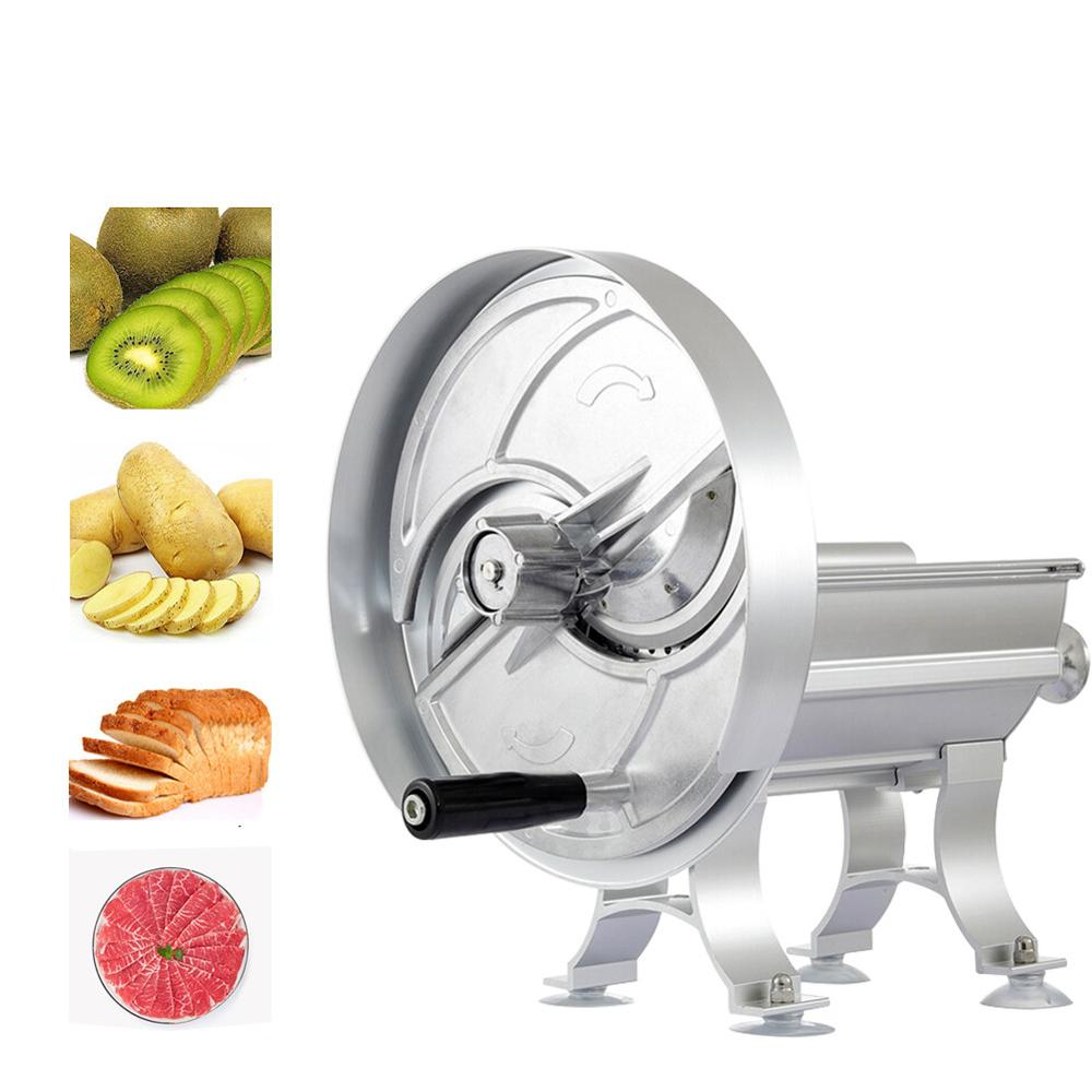 Household Manual Slicer Commercial Multi-function Adjustable Aluminum Alloy Vegetable Fruit Slicer Chopper Blades Kitchen Tool