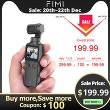 FIMI ладони 3 оси 4K HD портативный монопод с шарнирным замком Камера стабилизатор 128 ° Широкий формат Smart трек Встроенный Wi-Fi с дистанционным управлением по Bluetooth Управление