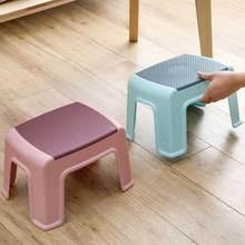 Huishoudelijke Plastic Krukje Woonkamer Antislip Bad Bench Kinderen Stap Kruk Veranderende Schoenen Krukken Kinderen Meubels Poef