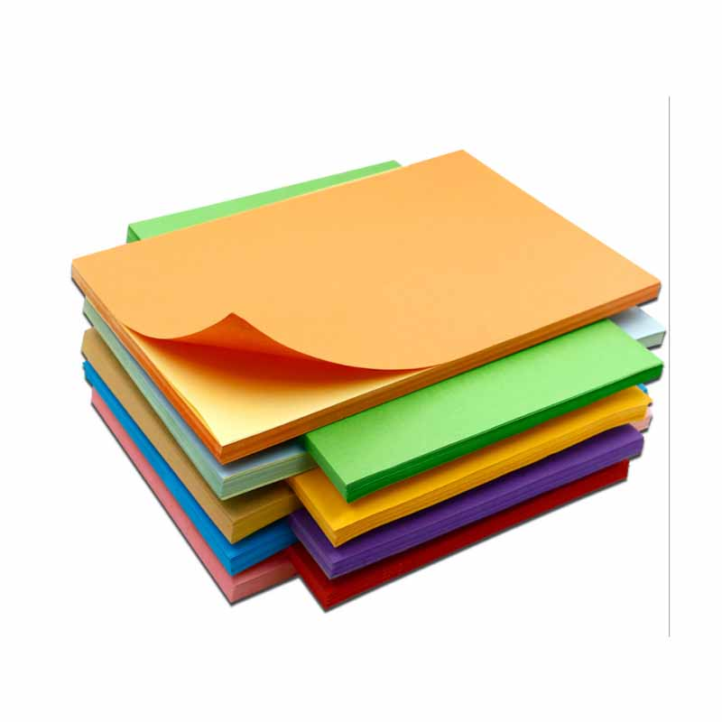 A4 Color Self-adhesive Printing Paper Self-adhesive Label Sticker Writing Paper Laser Inkjet Printing 50sheets