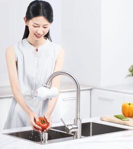 Image 5 - Youpin Xiaoda 인스턴트 난방 수도꼭지 전기 온수기 30 50 ° c LED 디지털 빛으로 차가운 따뜻한 조절 방수 수도꼭지