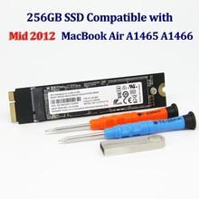 Disco duro SSD de 256GB para Macbook Air A1466, A1465, Md223, Md224, Md231, Md232, unidad de estado sólido, Mac Air, 2012G