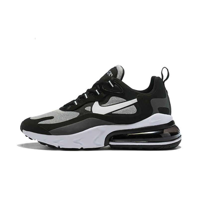 Nike Men Running Shoes  Air Max 270 React  Air Cushion Outdoor Sports Sneakers Comfortable AO4971-001