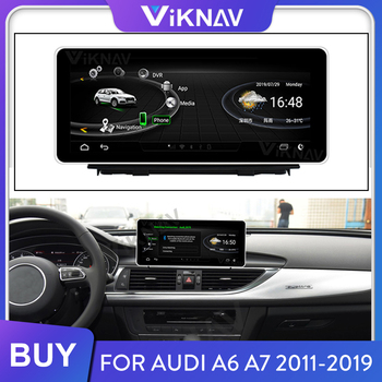 Car Radio for Audi A6 A7 2012-2018 Android Head Unit Multimedia Player GPS Navigation Stereo Receiver HD Touch Screen Autoradio image