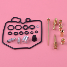 DWCX Motorcycle Carburetor Carb Repair Rebuild Kit Fit for Honda CB750 CB750C CB750K CB750SC 1980 1981 1982 1983