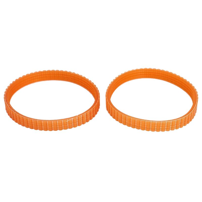 2 Pcs 9.6mm Width Electric Planer Drive Driving Belt For Makita 1900B