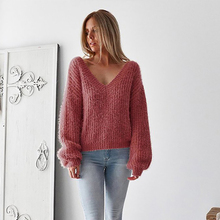 Maternity Sweater Clothes for Pregnant Women Fall Wool Pullover Autumn Winter Top Warm New Open Back Loose